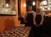 chefs Leonardo Magni e Liliana Andriola