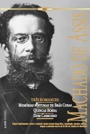"""Lançamento do livro """"Machado de Assis – Três romances"""""""