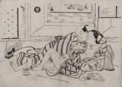 Erotismo na Arte Japonesa da Era Tokugawa