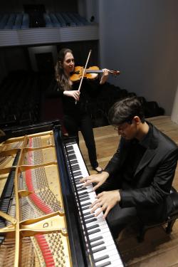 Recital | Bach, Mozart, Brahms: Sonatas para violino e piano