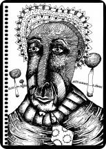 Lançamento da exposição Desenhos de Rodrigo Núñez