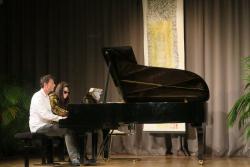 Concerto Duo Cziffra - piano solista e a 4 mãos