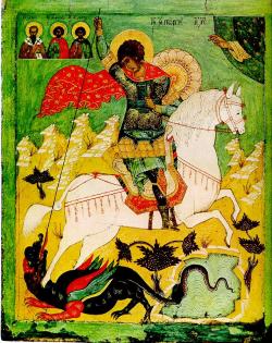 O ícone na arte russa