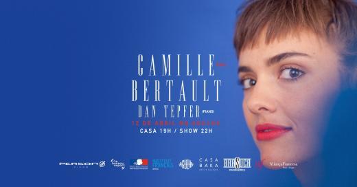 Camille Bertault se apresenta no Agulha!