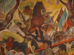 A arte mural mexicana