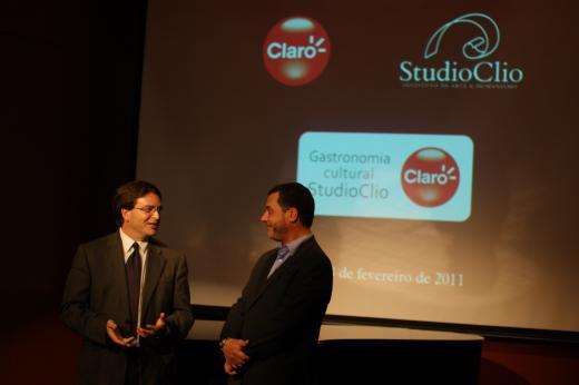 StudioClio e Claro firmam parceria na Gastronomia Cultural