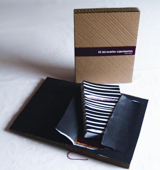 """Livro """"40 microcontos experimentais"""" é finalista do Prêmio Jabuti 2012"""
